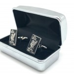 Black Cufflinks in box 02b