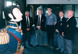 IOBA Committee handover Kink Billy to MMM 1998